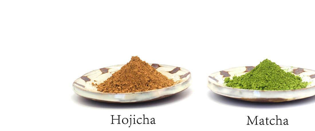 抹茶&ほうじ茶